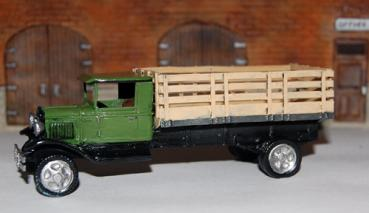 Long Bed Stake Truck