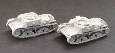 M13/40 Command Observation tanks