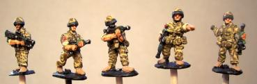 British Infantry SA80 etc.