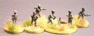 African Irregulars Command and Weapons (including m ..
