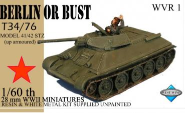 T34/76 up armored (Model 41/42)