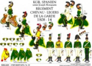 Spanien: Regiment Garde-Chevau-legers 1808-14