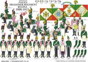 Italien: Dragoner-Regiment Regina 1808-13