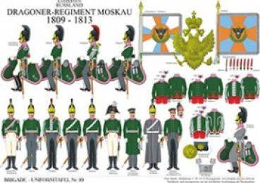 Russland: Dragoner-Regiment Moskau 1809-13