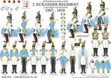 Holland: 2. K�rassier-Regiment 1807 1810
