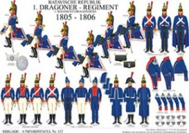 Batavische Republik: 1. Dragoner-Regiment 1805-06