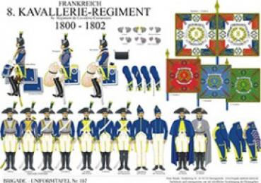 Frankreich: 8. R_giment Cavalerie-Cuirassiers 1800-02