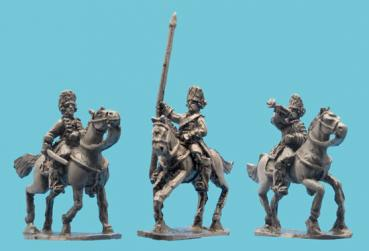 Chevaulegere Cavalry Command in Fur Caps
