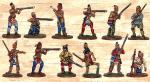 Box 1 Red Indians with Muskets