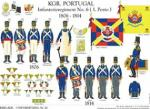 Portugal: Infanterie-Regiment No 6 (1. Porto) 1806-14