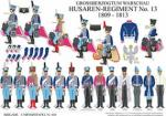 Warschau: Husaren-Regiment No.13 1809-13